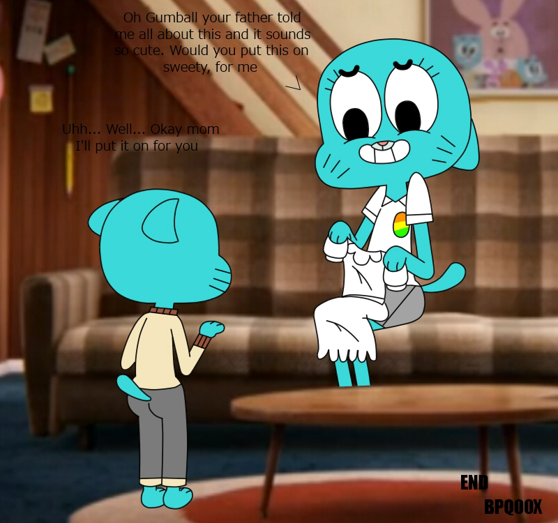 the gumball of cactus world amazing Cartoon network out of jimmy's head