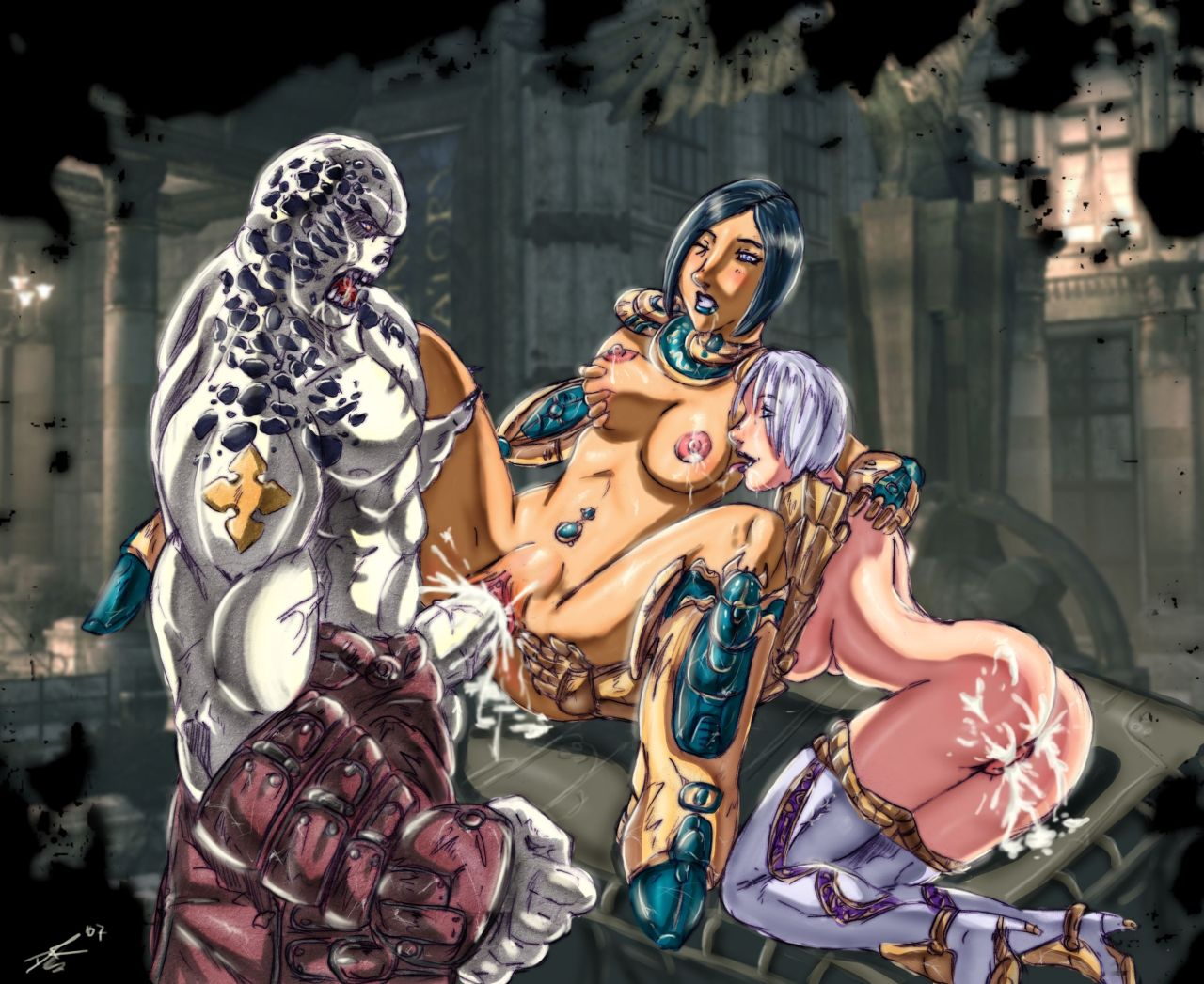war sam gears naked of Final fantasy brave exvius dark fina