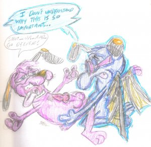 dog dog mad cowardly the courage I giorno giovanna have a dream quote
