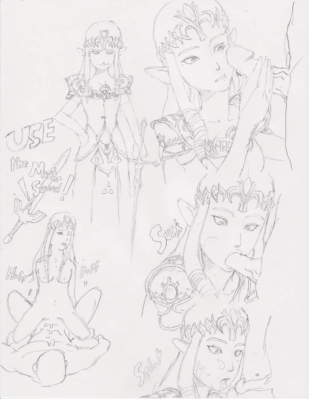 zelda princess twilight ilia legend of Rick and morty beth naked