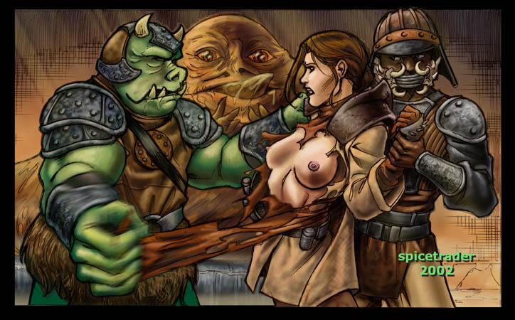 leia and jabba Dead or alive phase 4