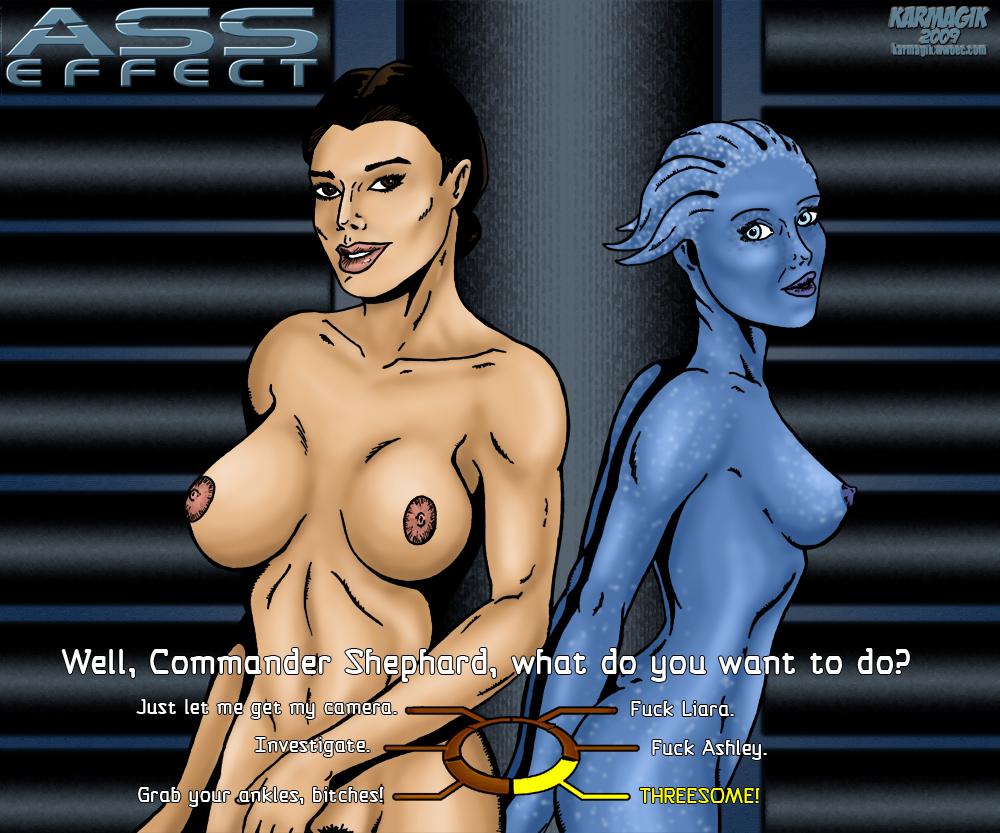 ashley williams mass effect naked Elana champion of lust