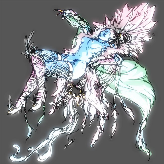 mystic phoebe quest fantasy final Chun-li