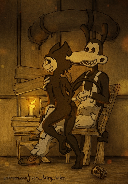 bendy edgar and machine the ink My girlfriend is a succubus