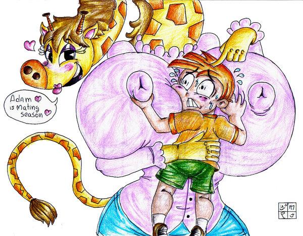 a monkey my jake gym partner's Dragon ball super broly chelye
