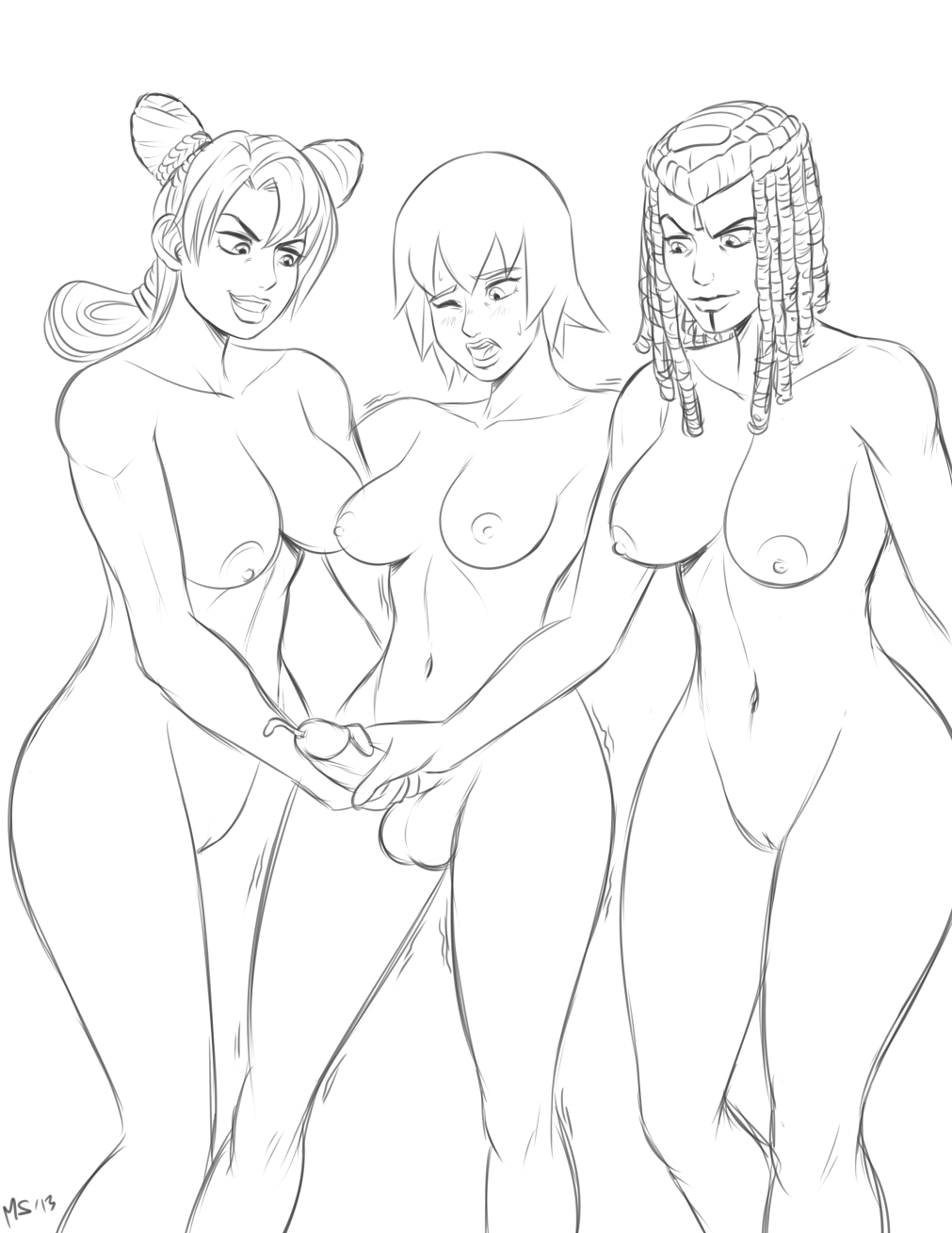 gif cum filling pussy with Totally spies clover weight gain