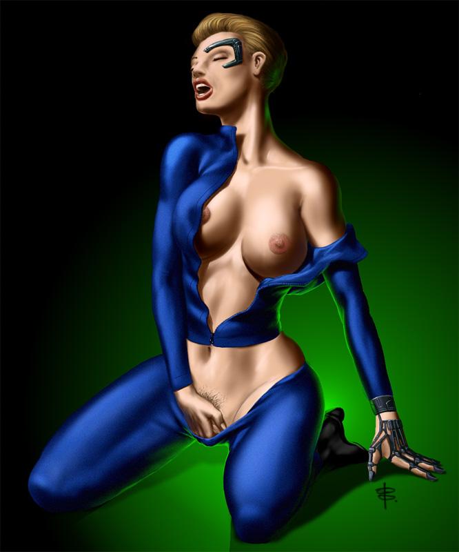 7 of 9 nude star trek Legend of zelda fi naked