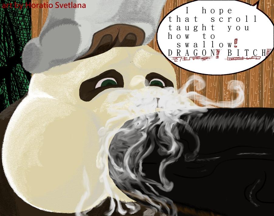sex fu panda comic kung Haiyore!_nyaruko-san