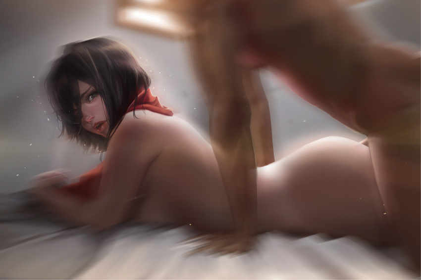 titan on attack nude mikasa Ratchet and clank courtney gears