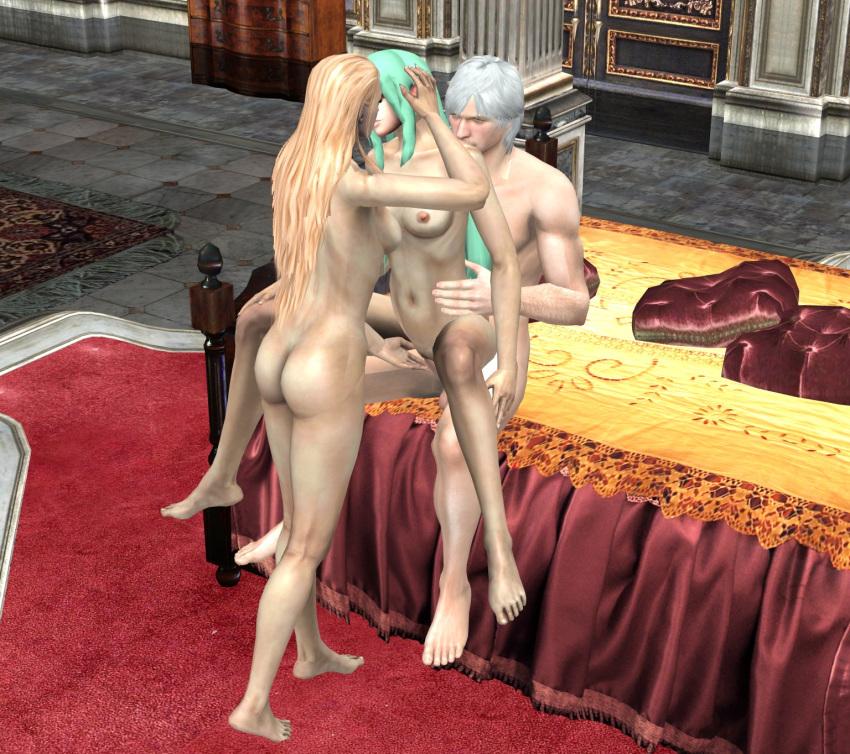 devil female cry dante may Mirelia q melromarc