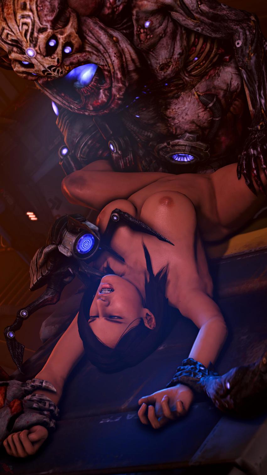 effect gif andromeda mass porn Re:zero konosuba crossover