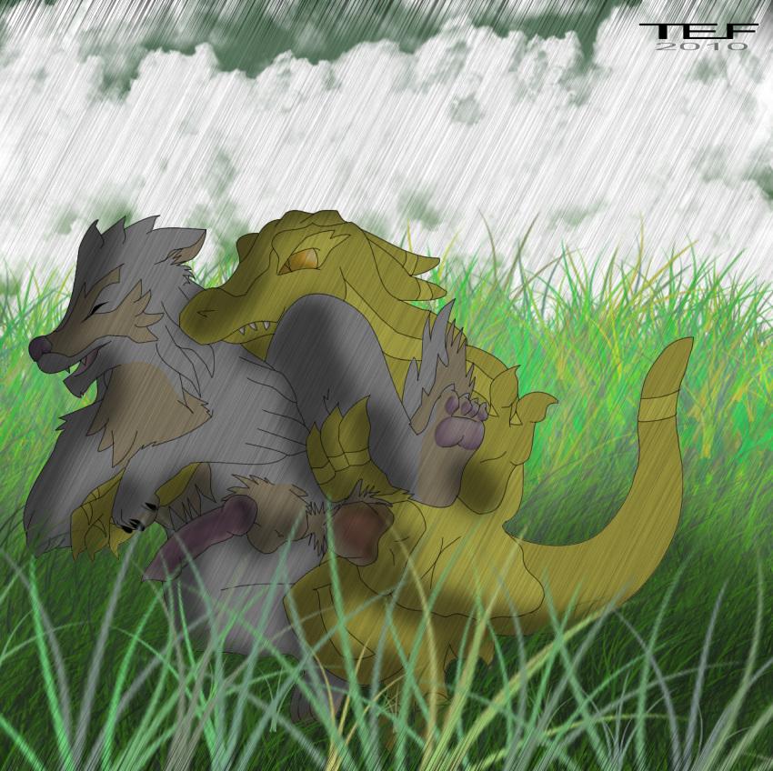 wolf's kiba rain and cheza Xenoblade chronicles x ga buidhe