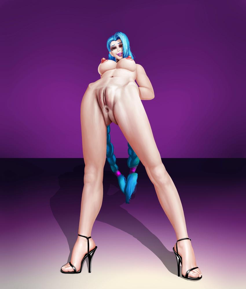 of legends league naked jinx League of legends jiggly girls