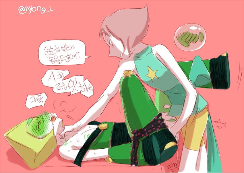 limb enhancers steven peridot universe Mangaka-san to assistant-san to