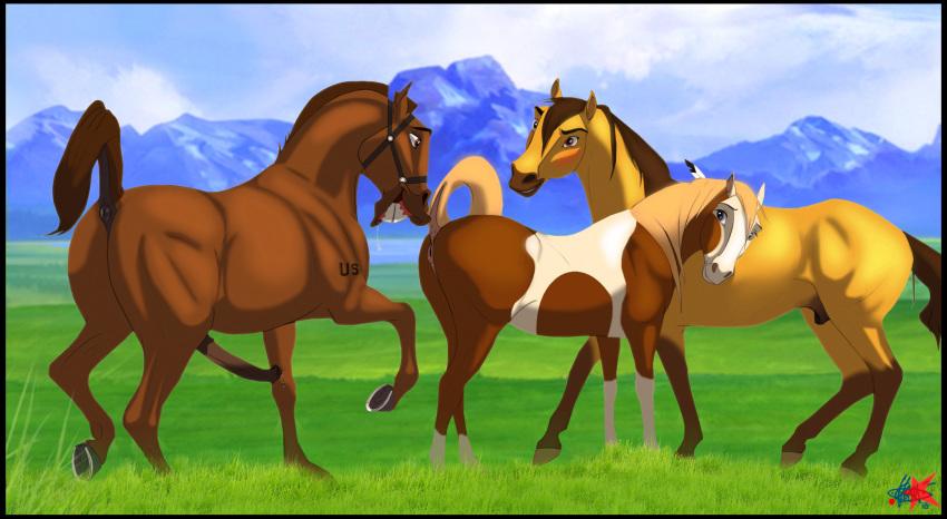 fanfiction of the cimarron spirit stallion Okusama ga seito kaicho!
