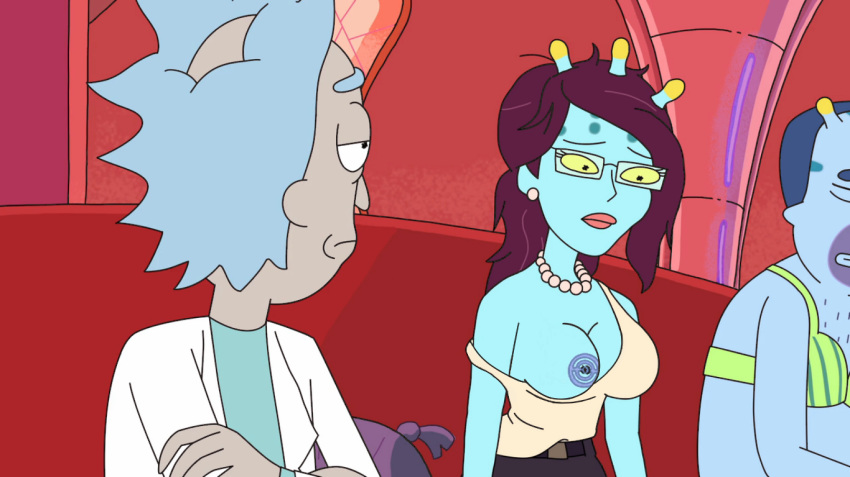 and expansion rick morty breast summer Dororon enma-kun meeramera